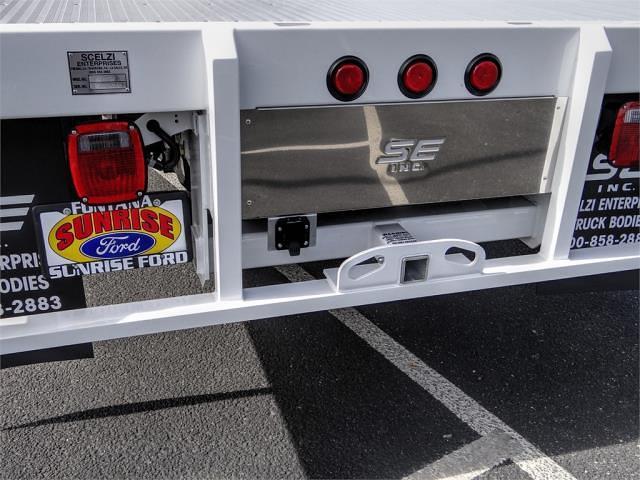 2021 Ford F-450 Crew Cab DRW 4x2, Scelzi WFB Flatbed #FM0944 - photo 9