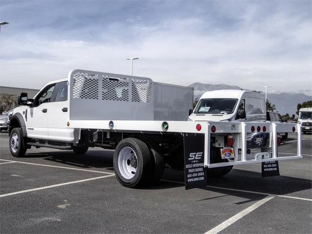 2021 Ford F-450 Crew Cab DRW 4x2, Scelzi WFB Flatbed #FM0944 - photo 2