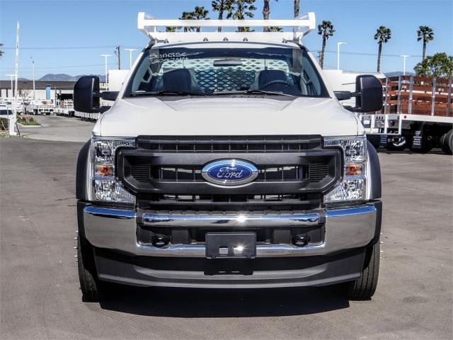 2021 Ford F-550 Regular Cab DRW 4x2, Scelzi SCTFB Contractor Body #FM1018 - photo 7