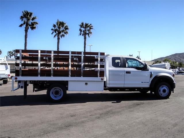 2021 Ford F-450 Super Cab DRW 4x2, Scelzi WFB Stake Bed #FM1051 - photo 5