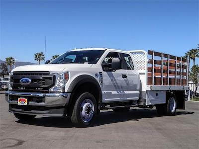 2021 Ford F-450 Super Cab DRW 4x2, Scelzi WFB Stake Bed #FM1051 - photo 1