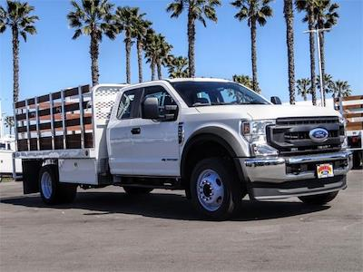 2021 Ford F-450 Super Cab DRW 4x2, Scelzi WFB Stake Bed #FM1051 - photo 6
