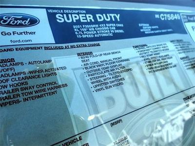 2021 Ford F-350 Super Cab 4x2, Harbor TradeMaster Service Body #FM1066 - photo 11