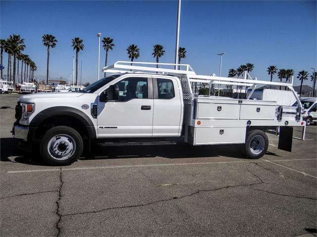 2021 Ford F-450 Super Cab DRW 4x2, Scelzi CTFB Contractor Body #FM1085 - photo 3