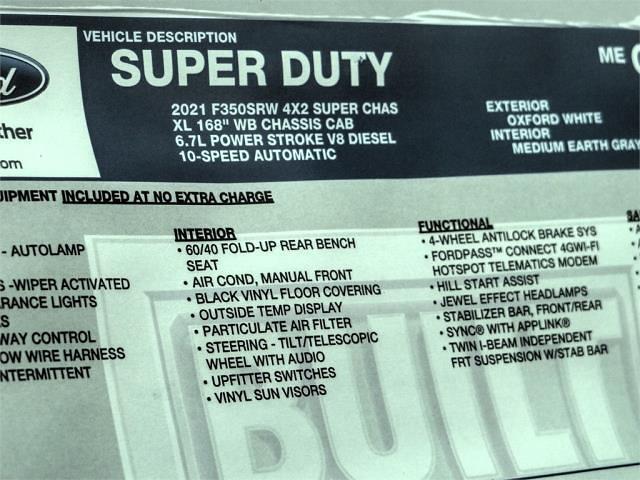 2021 Ford F-350 Super Cab 4x2, Scelzi Signature Service Body #FM1100 - photo 12