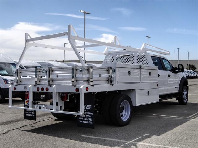 2021 Ford F-450 Crew Cab DRW 4x2, Scelzi CTFB Contractor Body #FM1196 - photo 4