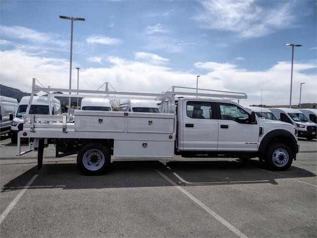 2021 Ford F-450 Crew Cab DRW 4x2, Scelzi CTFB Contractor Body #FM1196 - photo 5