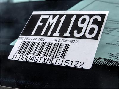 2021 Ford F-450 Crew Cab DRW 4x2, Scelzi CTFB Contractor Body #FM1196 - photo 13