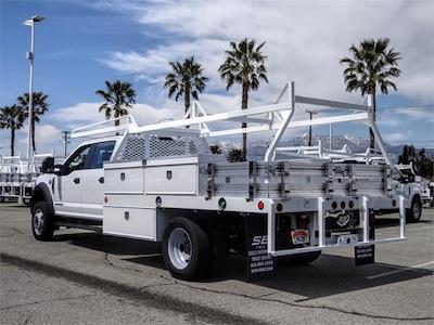 2021 Ford F-450 Crew Cab DRW 4x2, Scelzi CTFB Contractor Body #FM1196 - photo 2