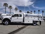 2021 Ford F-450 Super Cab DRW 4x2, Scelzi CTFB Contractor Body #FM1198 - photo 3