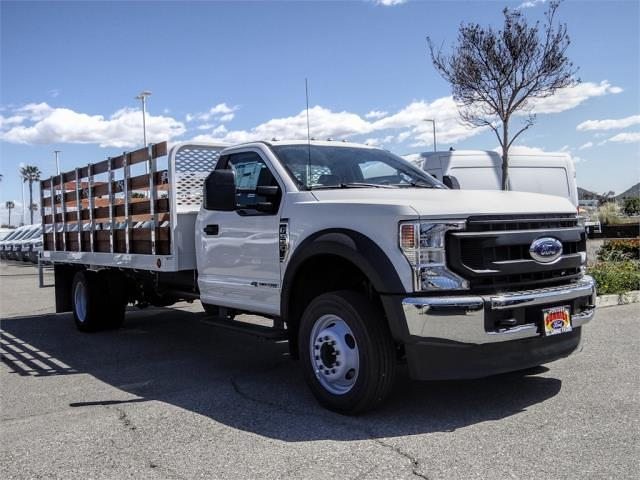 2021 Ford F-550 Regular Cab DRW 4x2, Scelzi WFB Stake Bed #FM1215 - photo 11