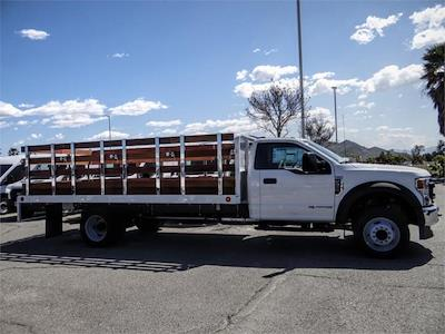 2021 Ford F-550 Regular Cab DRW 4x2, Scelzi WFB Stake Bed #FM1215 - photo 10
