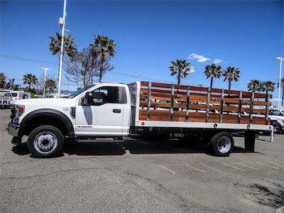 2021 Ford F-550 Regular Cab DRW 4x2, Scelzi WFB Stake Bed #FM1215 - photo 3