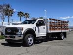 2021 Ford F-550 Regular Cab DRW 4x2, Scelzi WFB Stake Bed #FM1215 - photo 1