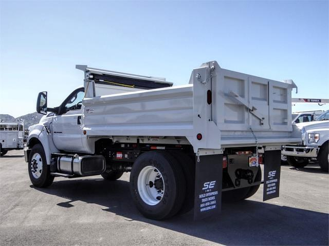 2021 Ford F-650 Regular Cab DRW 4x2, Scelzi Dump Body #FM1226 - photo 2