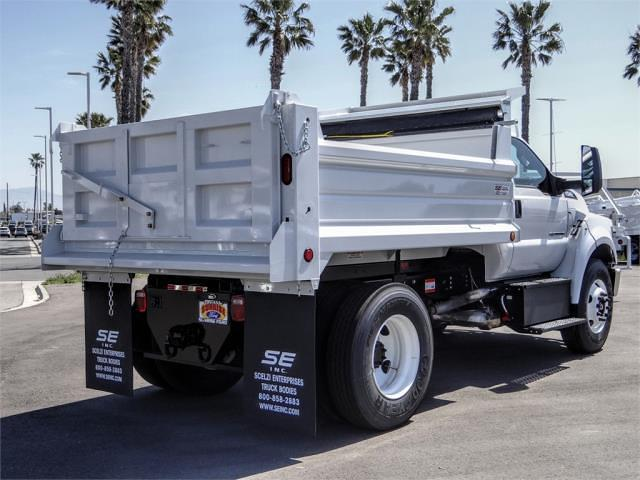 2021 Ford F-650 Regular Cab DRW 4x2, Scelzi Dump Body #FM1226 - photo 4