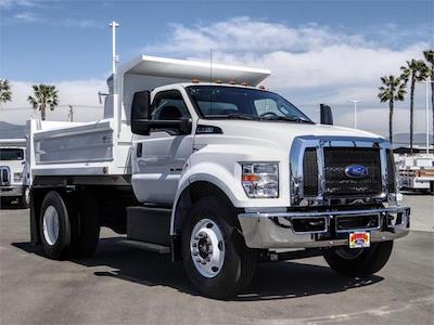 2021 Ford F-650 Regular Cab DRW 4x2, Scelzi Dump Body #FM1226 - photo 6