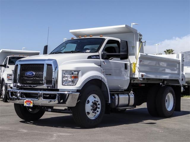 2021 Ford F-650 Regular Cab DRW 4x2, Scelzi Dump Body #FM1227 - photo 1