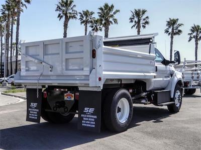 2021 Ford F-650 Regular Cab DRW 4x2, Scelzi Dump Body #FM1227 - photo 4