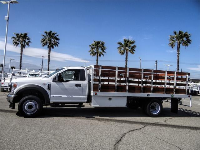 2021 Ford F-600 Regular Cab DRW 4x2, Scelzi WFB Stake Bed #FM1283 - photo 3
