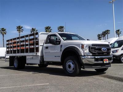 2021 Ford F-600 Regular Cab DRW 4x2, Scelzi WFB Stake Bed #FM1283 - photo 6