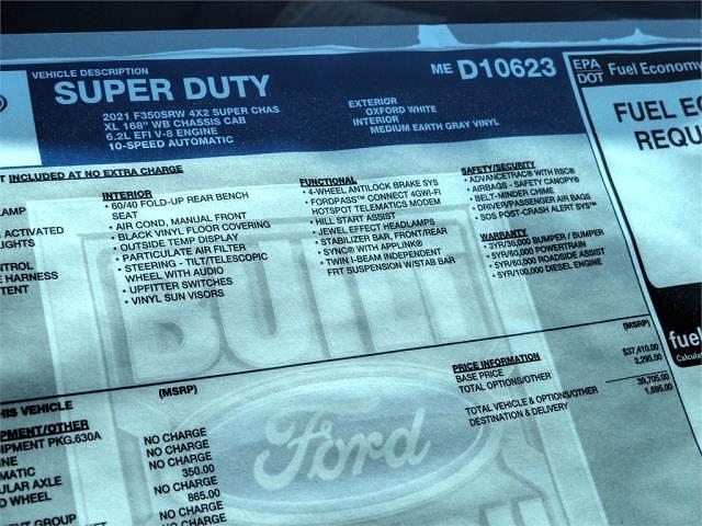 2021 Ford F-350 Super Cab 4x2, Royal Truck Body Service Body #FM1300 - photo 12