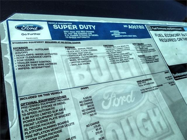 2021 Ford F-600 Regular Cab DRW 4x2, Scelzi WFB Flatbed #FM1320 - photo 11