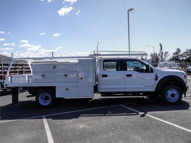 2021 Ford F-450 Crew Cab DRW 4x2, Scelzi SCTFB Contractor Body #FM1324 - photo 5