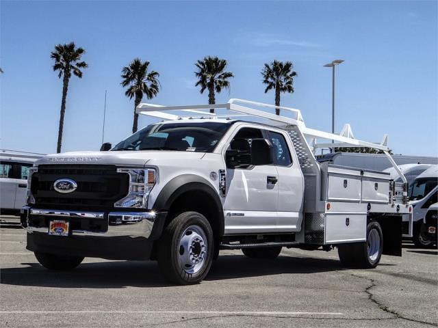 2021 Ford F-450 Super Cab DRW 4x2, Scelzi Contractor Body #FM1325 - photo 1