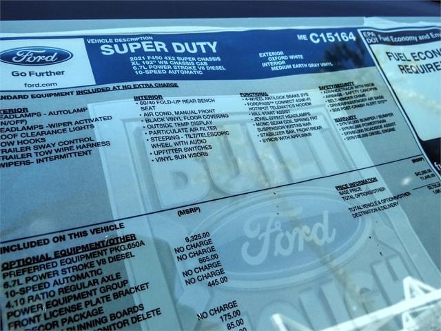 2021 Ford F-450 Super Cab DRW 4x2, Scelzi CTFB Contractor Body #FM1326 - photo 12