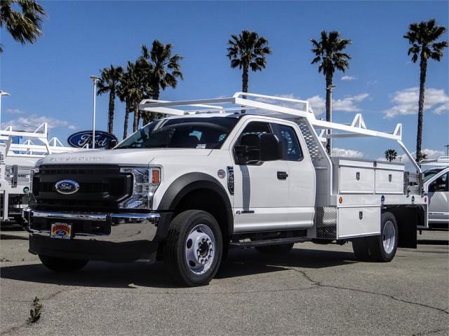 2021 Ford F-450 Super Cab DRW 4x2, Scelzi Contractor Body #FM1326 - photo 1