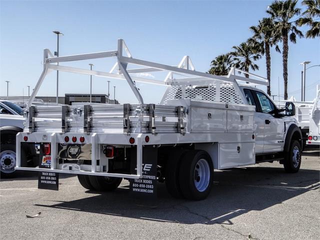 2021 Ford F-450 Super Cab DRW 4x2, Scelzi CTFB Contractor Body #FM1326 - photo 4