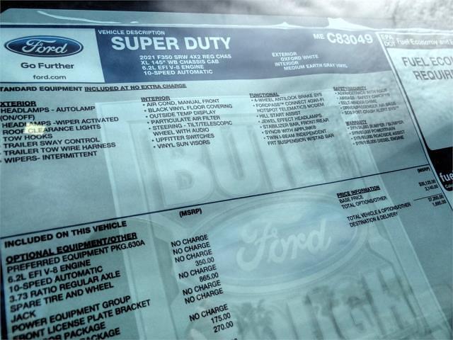 2021 Ford F-350 Regular Cab 4x2, Scelzi Signature Service Body #FM1409 - photo 14