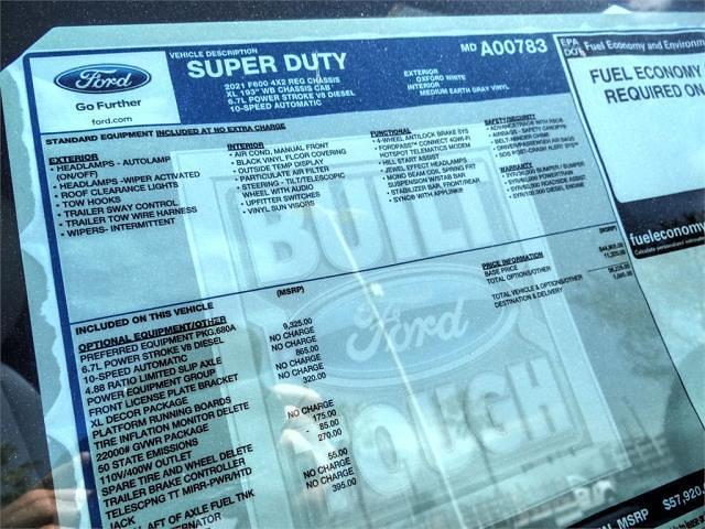 2021 Ford F-600 Regular Cab DRW 4x2, Scelzi WFB Stake Bed #FM1412 - photo 13
