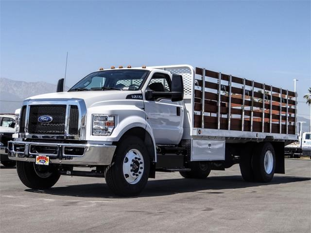 2021 Ford F-650 Regular Cab DRW 4x2, Scelzi SFB Stake Bed #FM1415 - photo 1