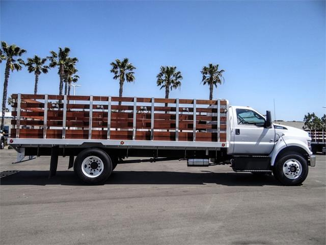 2021 Ford F-650 Regular Cab DRW 4x2, Scelzi SFB Stake Bed #FM1415 - photo 5