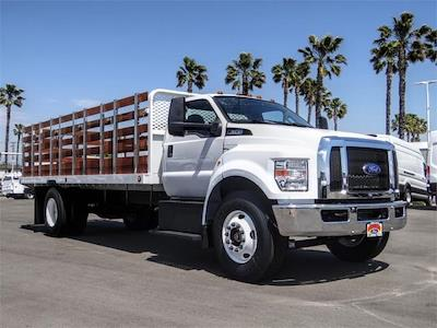 2021 Ford F-650 Regular Cab DRW 4x2, Scelzi SFB Stake Bed #FM1415 - photo 6