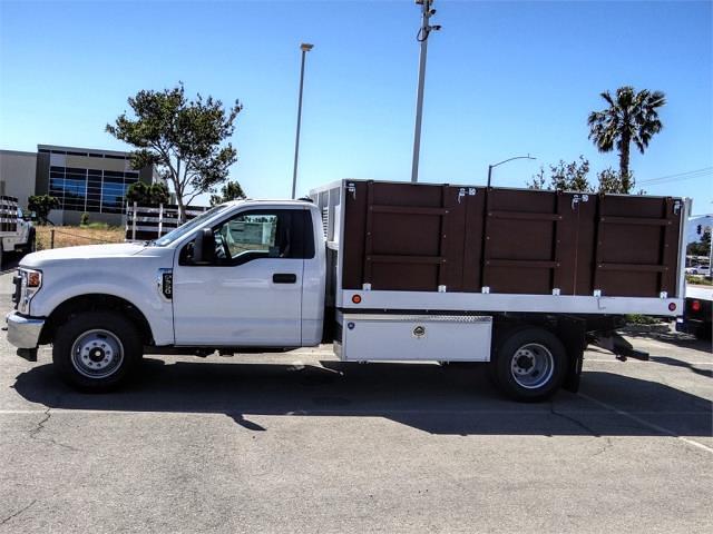 2021 Ford F-350 Regular Cab DRW 4x2, Royal Truck Body Landscape Dump #FM1435 - photo 3