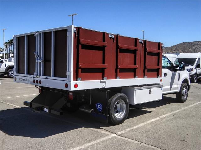 2021 Ford F-350 Regular Cab DRW 4x2, Royal Truck Body Landscape Dump #FM1435 - photo 4