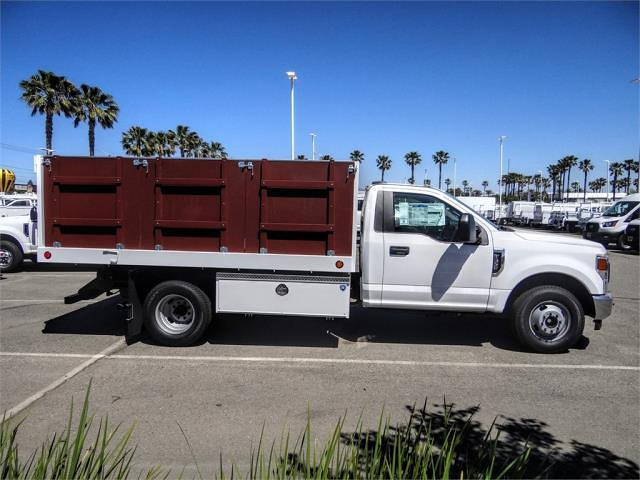 2021 Ford F-350 Regular Cab DRW 4x2, Royal Truck Body Landscape Dump #FM1435 - photo 5
