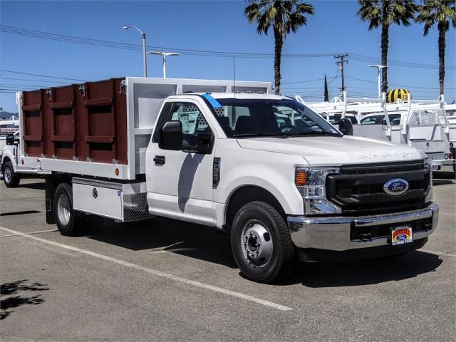 2021 Ford F-350 Regular Cab DRW 4x2, Royal Truck Body Landscape Dump #FM1435 - photo 6