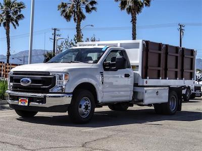 2021 Ford F-350 Regular Cab DRW 4x2, Royal Truck Body Landscape Dump #FM1435 - photo 1