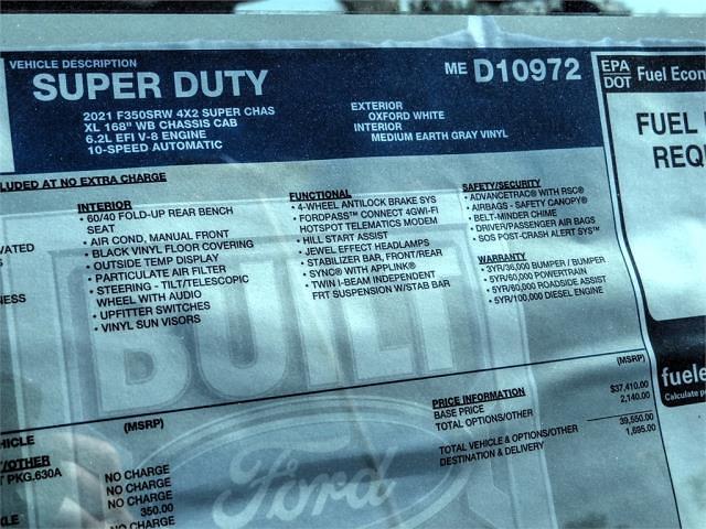 2021 Ford F-350 Super Cab 4x2, Scelzi Signature Service Body #FM1524 - photo 12