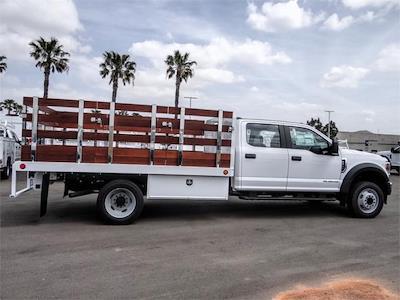 2021 Ford F-450 Crew Cab DRW 4x2, Scelzi WFB Stake Bed #FM1534 - photo 5