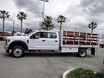 2021 Ford F-450 Crew Cab DRW 4x2, Scelzi WFB Stake Bed #FM1541 - photo 3