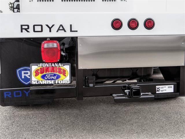 2021 Ford F-350 Regular Cab DRW 4x2, Royal Truck Body Platform Body Flatbed #FM1617 - photo 10