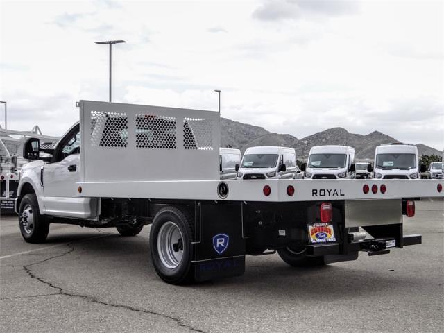 2021 Ford F-350 Regular Cab DRW 4x2, Royal Truck Body Flatbed #FM1617 - photo 1