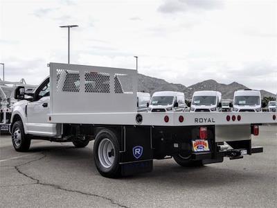 2021 Ford F-350 Regular Cab DRW 4x2, Royal Truck Body Platform Body Flatbed #FM1617 - photo 2