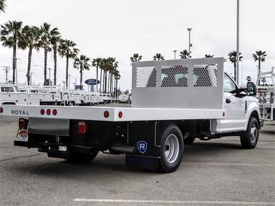 2021 Ford F-350 Regular Cab DRW 4x2, Royal Truck Body Platform Body Flatbed #FM1617 - photo 4