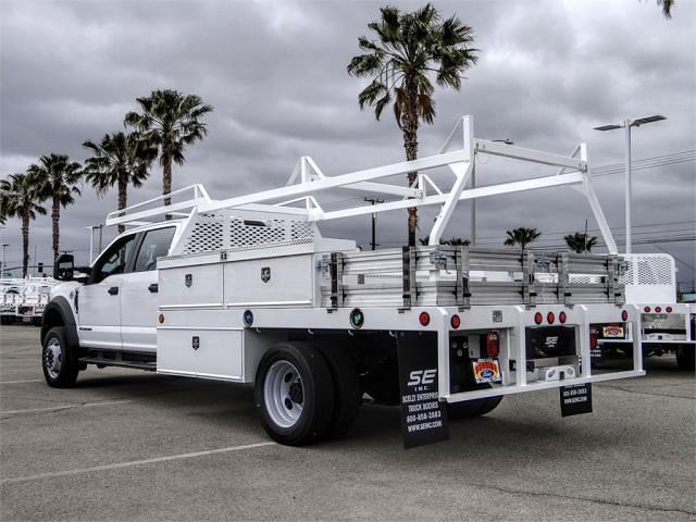 2021 Ford F-450 Crew Cab DRW 4x2, Scelzi Contractor Body #FM1626 - photo 1